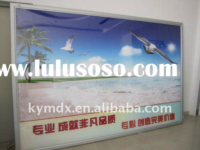 42 thickness slim led advertising light box display board