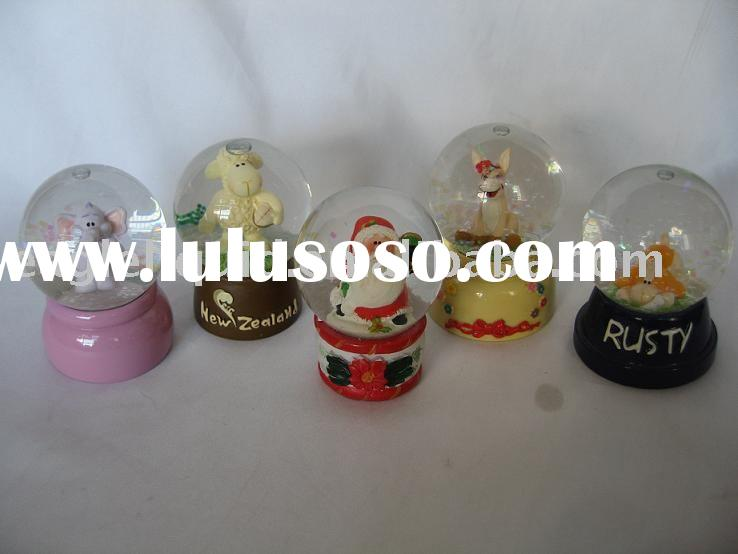 45mm Mini Glass snow ball,water globe