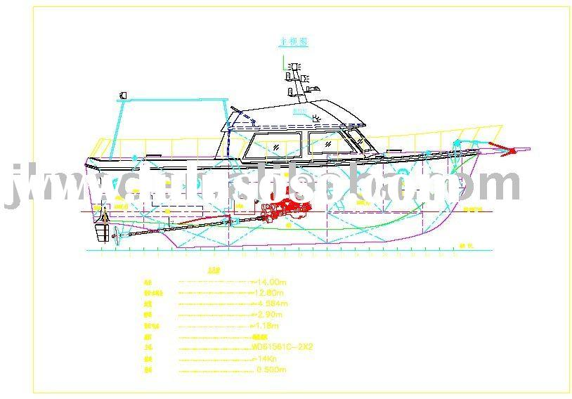 47 foot Yacht design