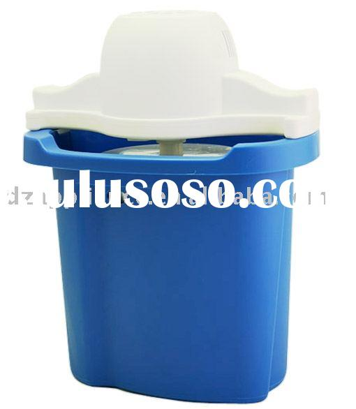4QT Plastic Ice Cream Maker(Oblong shape)