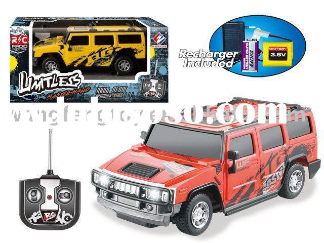 4-Function r c Hummer Toy Car
