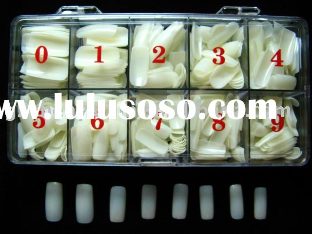 500 Natural False/Acrylic/Artificial Nail Art Tips BOX