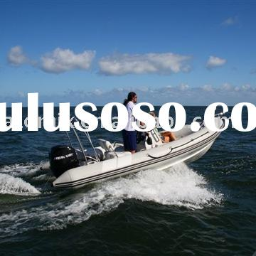 500 RIB boat with Mercury outboard engine