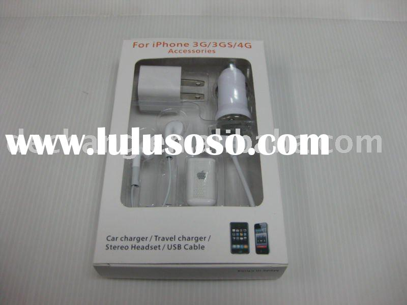 5in1 car charger for iphone 3g/3gs/4g