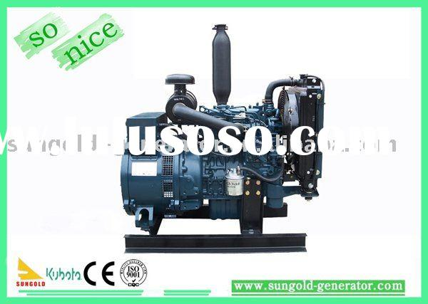 6KW Diesel Generator Set With KUBOTA Engine D905-BG