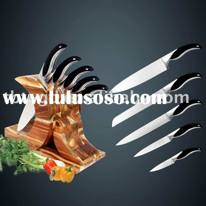 6 Pcs kitchen knife set of utensils