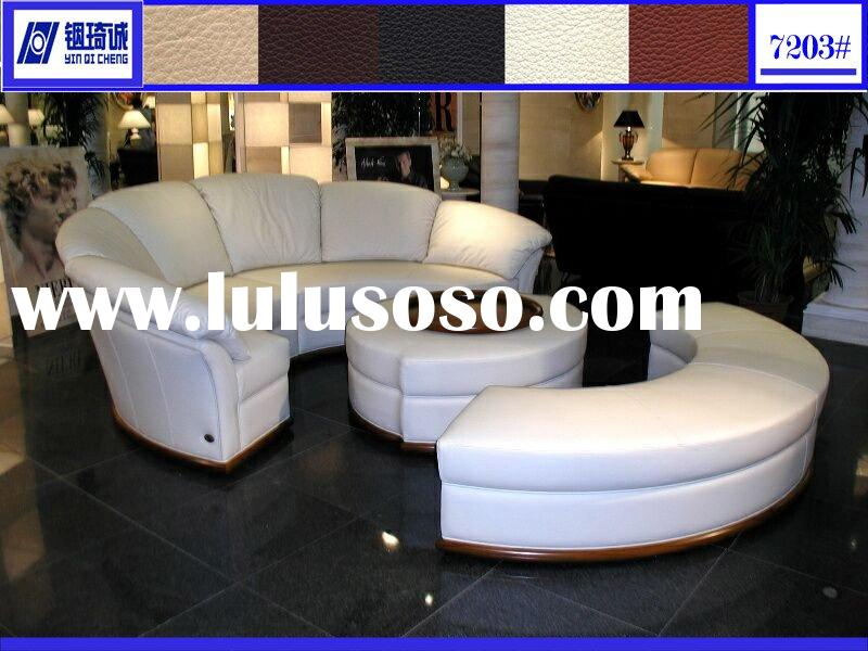 7203# Leaether Sofa Bed