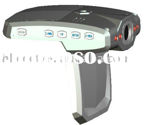 720P HD car driving dvr recorder with Swivel LCD