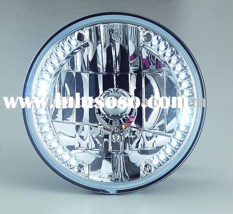 "7"" headlamp with white LED ( replace H6024)"