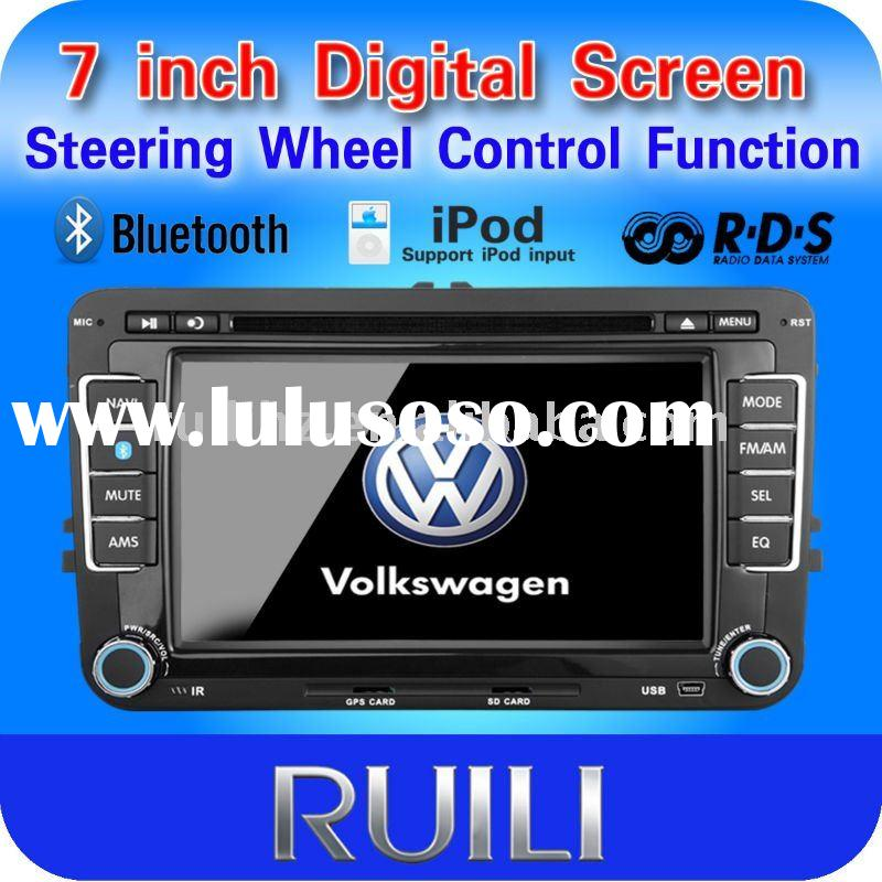 7 inch VW car audio and car dvd player with gps