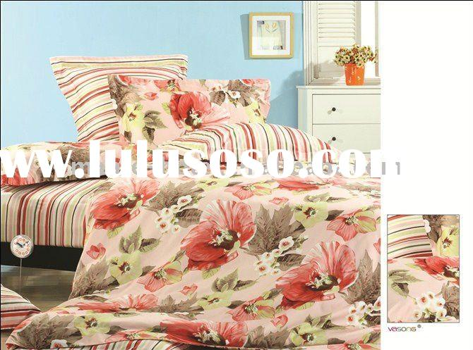 7pcs Cotton reactive printing bed linens