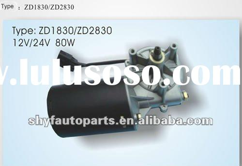 80W Windshield Wiper Motor for heavy duty truck