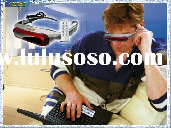80inch iTheater Virtual Video Glasses Eyewear 3D/MP4 Glasses/Video Recorder/Digital Video Player, co