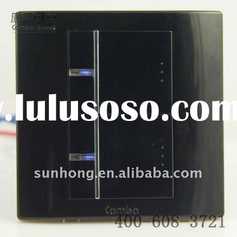 86*86 wall switch of full-flat type
