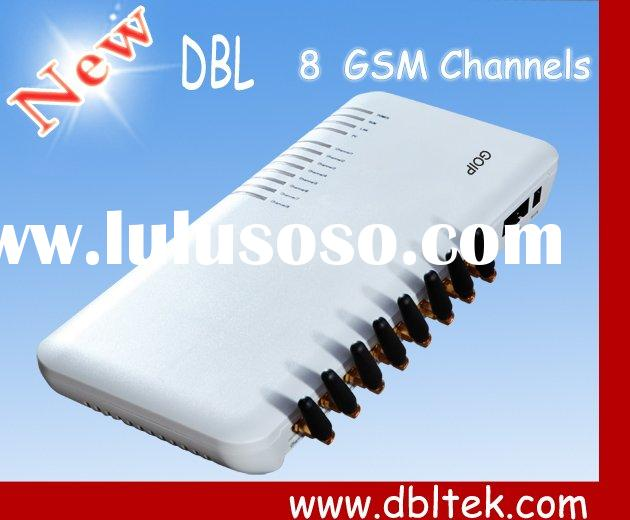 8 Port GSM VoIP Gateway with SIP&H.323 (GOIP-8)