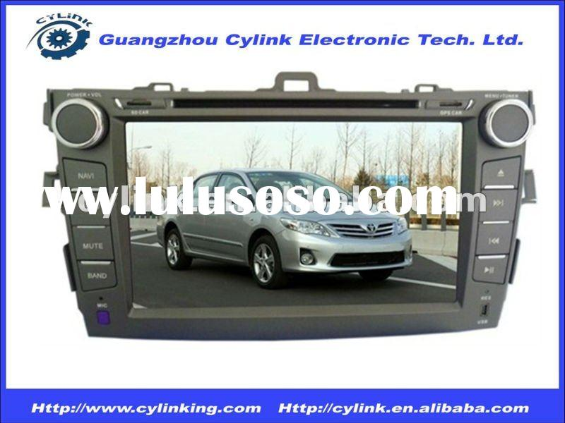 8 inch TOYOTA Corolla car dvd player