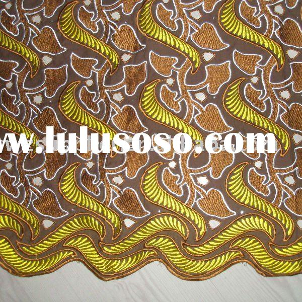 AFRICAN COTTON LACE WHOLESALES