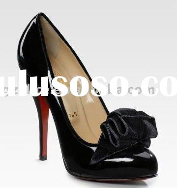 AL0032 ;2011 newest patent leather lady dress shoes.