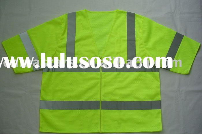ANSI/ISEA 107-2004 Class 3 high visibility safety vest