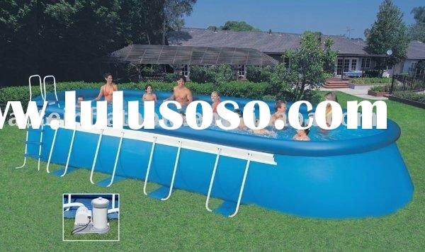 Above ground lap pools for sale price china manufacturer for Above ground pools for sale