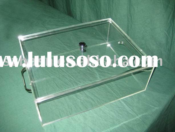 Acrylic Security Box,Plexiglass Display Case,Lucite Storage Box