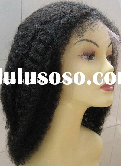 Afro kinky full lace wig