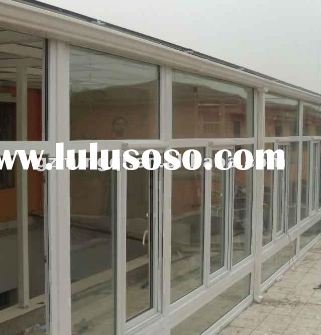 Aluminium Pvc Floor To Ceiling Windows In Guangzhou For