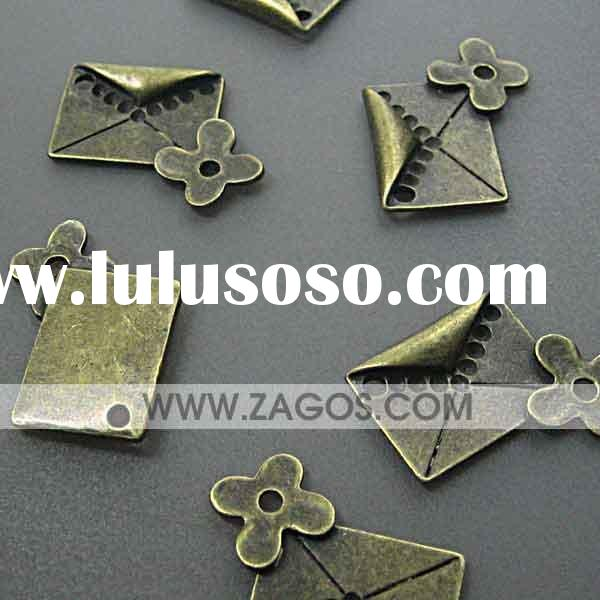 Antique Brass Charms Beads TS5053