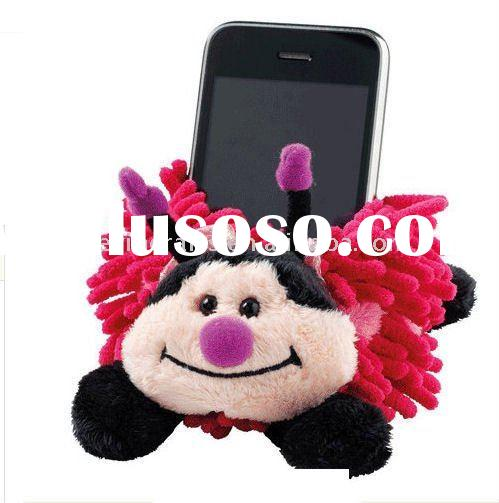 Aroma Home Cell Phone Gaget Holder Plush Pink Butterfly