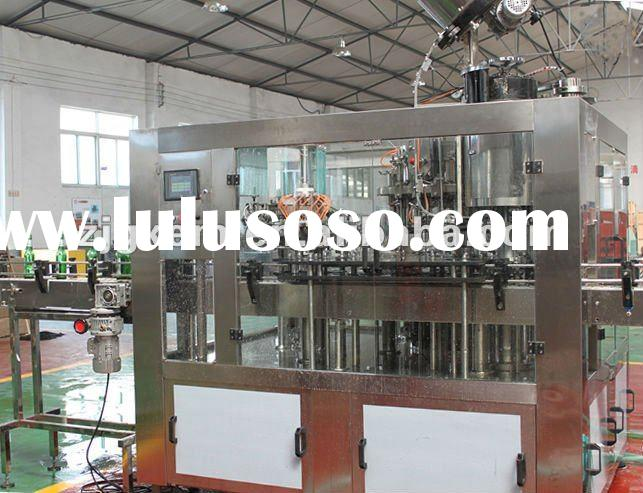 Automatic 3-In-1 Bottle Beer Filling Machine/Line (18,24,32,60 heads)