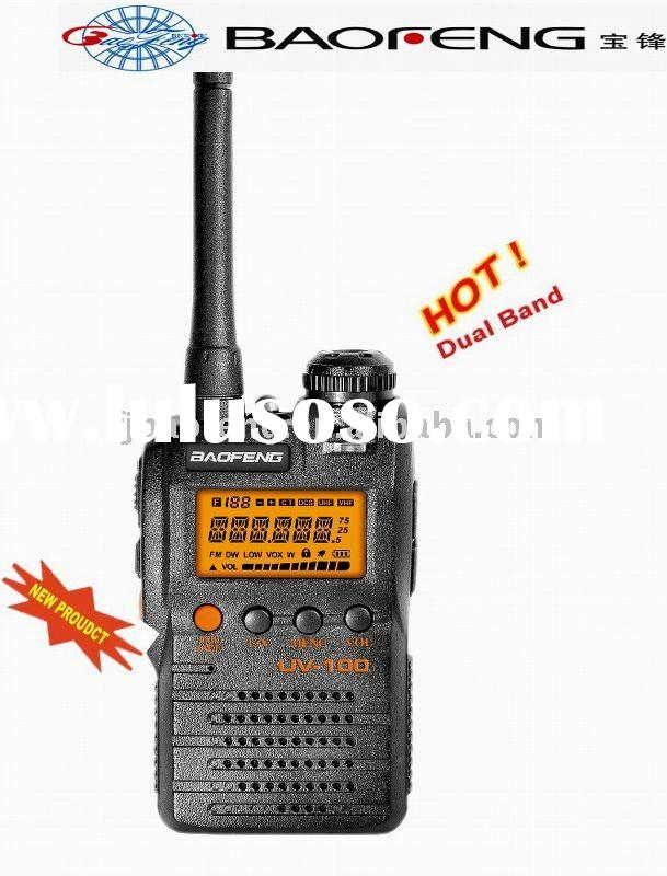 BAOFENG UV-100 vhf uhf 2-way radio portable transceiver