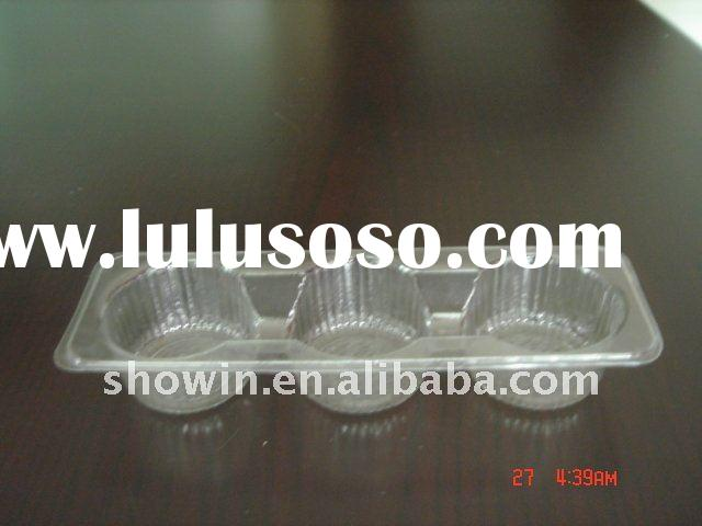 Bakery tray,food grade green plastic packaging material