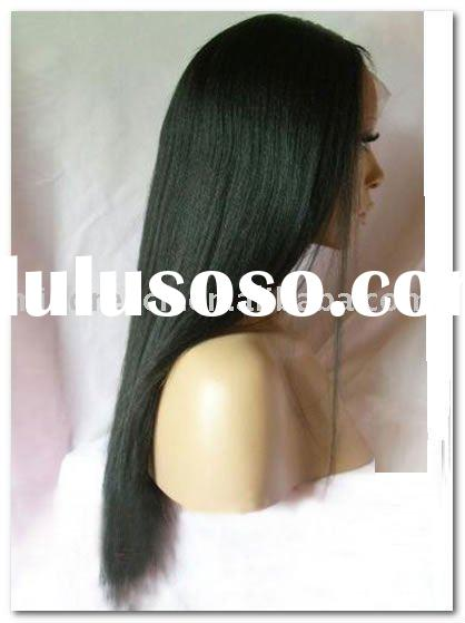 Beauty style swiss lace human hair wigs,accept escrow payment