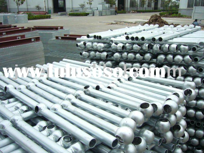 Best quality, price and service hot dip galvanized stair handrail & balustrade