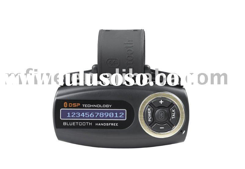 Bluetooth Handsfree Steering Wheel Mounted Car Kit with LCD Screen