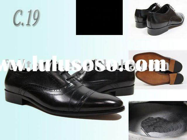 Brand man's shoes, Real leather Material