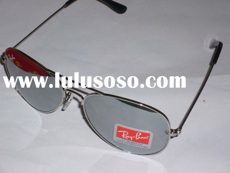 Brand new boxed Aviator RB3025 sunglasses sunglass Silver Frame Mirrored Fitversion