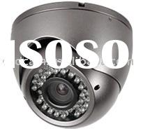 CCTV Adjust Varifocal 4-9MM Lens focal length Vandal Proof IR Dome Camera