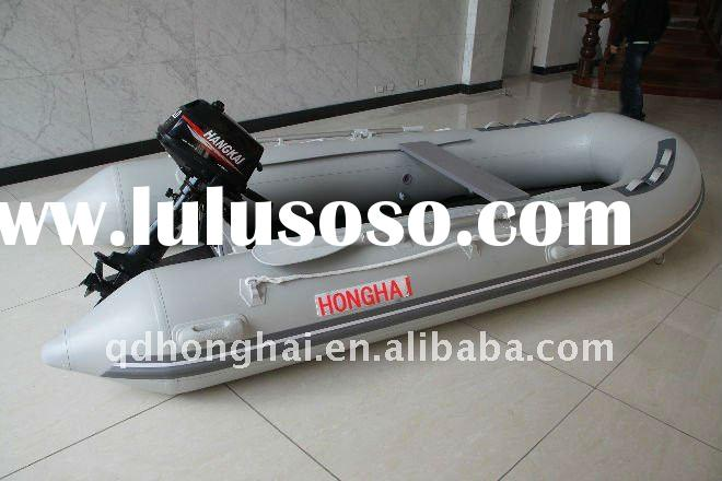 CE DSM-380 inflatable sports boat used outboards engine motor