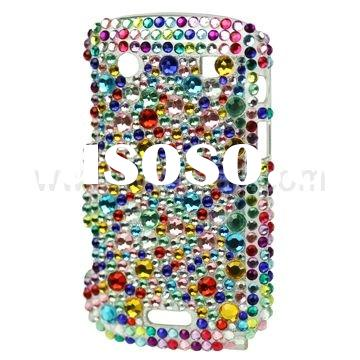 Candy Color Bling Rhinestone Hard Case for BlackBerry Bold 9900/9930