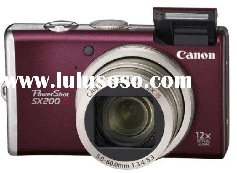 Canon PowerShot SX200 IS ( Red ) Digital Camera
