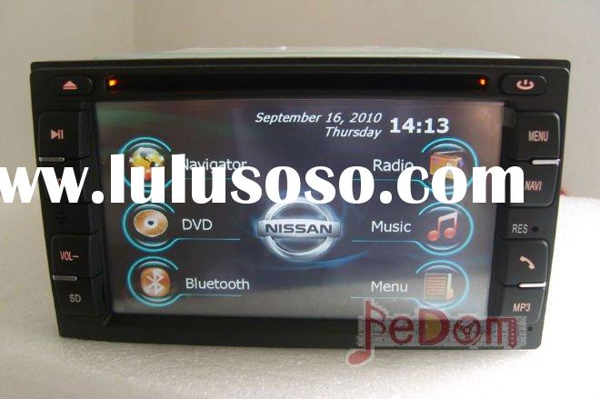 Car DVD GPS for Nissan Qashqai/Tiida/Pathfinder/Frontier/Sylphy/Livina/Geniss/X-trail/Rouge/Versa