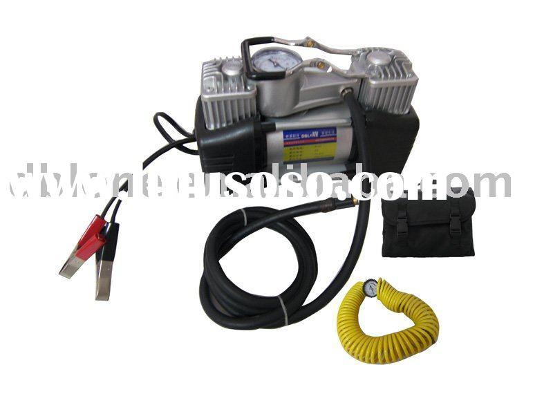 Car air compressor/ tire inflator/ electric air pump