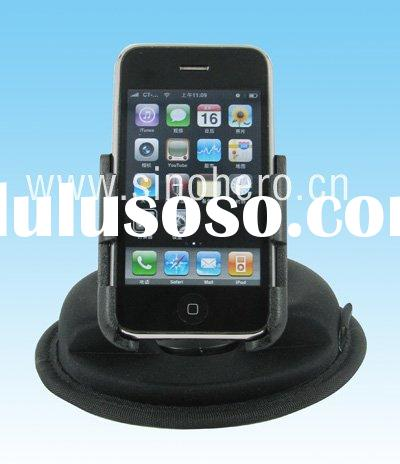 Car holder for iPhone 3G/3GS--with Anti-pad,windshield holder