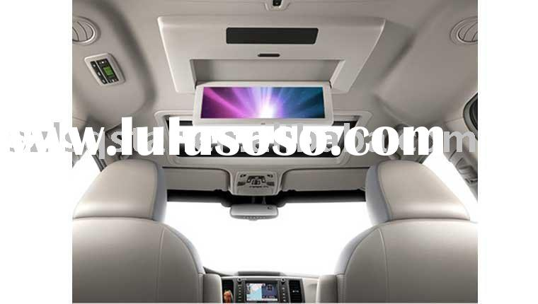 Car lcd tv for TOYOTA SIENNA Bulit-in GPS\Bluetooth\canbus\USB,SD&MMC slot\DVD.ST-T810T