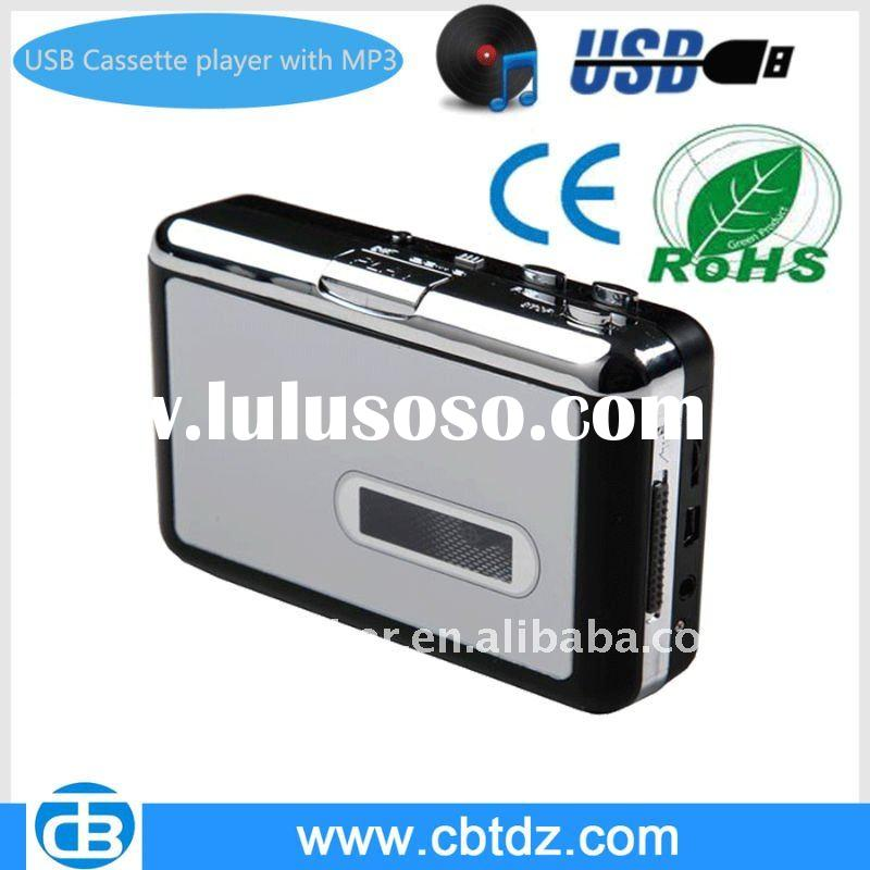 Cassette adapter Mp3 converter,walkman,usb cassette converter