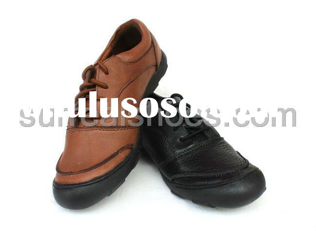 Casual comfortable fashion leather shoes men