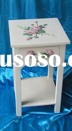 Chinese flower antique hand painted furniture design