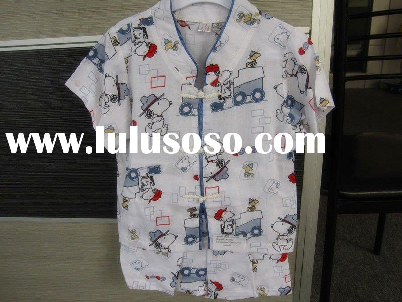 Chinese style baby boy clothes set
