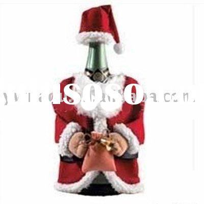 Christmas Wine Bottle Cover wine bottle clothes